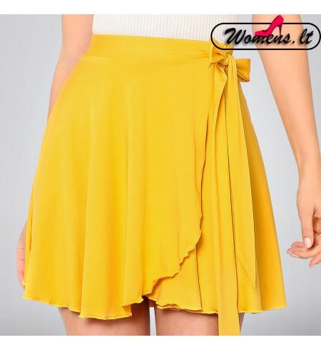 Geltonos spalvos sijonas