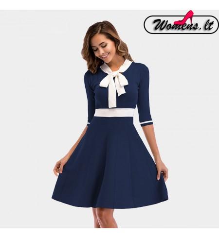 """Mėlynas Spalvos Suknelė ,,Caspi"""""""