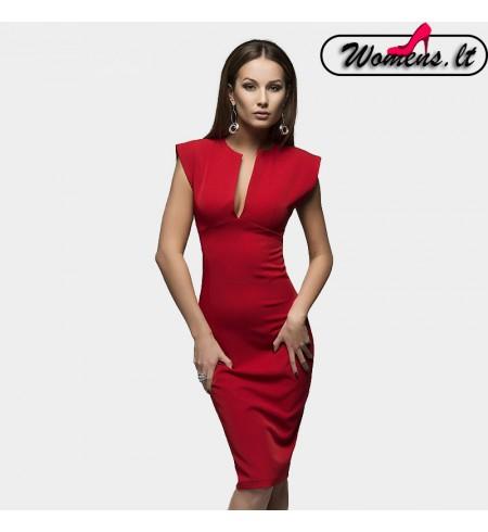 """Raudonos Spalvos Suknelė ,,Spring"""""""