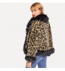 """Moteriški Kailiniai ,,Leopard"""""""